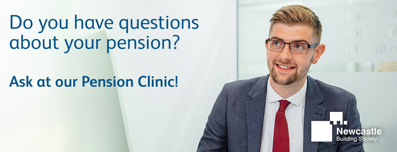 Pension clinic by Newcastle Building Society