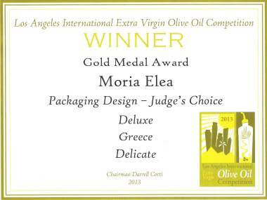 LOS ANGELES INTERNATIONAL EXTRA VIRGIN OLIVE OIL COMPETITION 2013