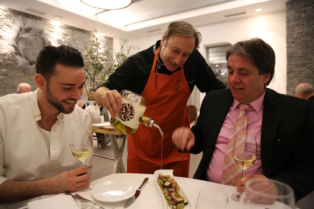 Chef Baxevanis at Nostos