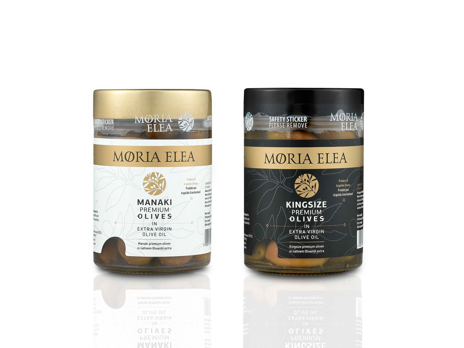 New Moria Elea Premium Olives in EVOO