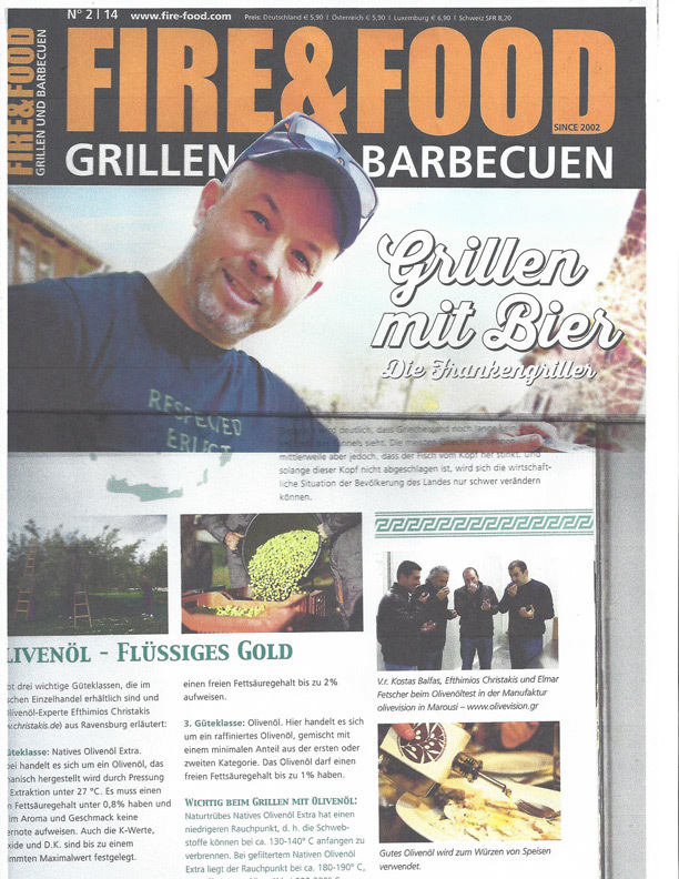 Fire and Food magazine