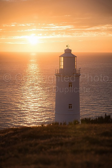 Sun down at Trevose