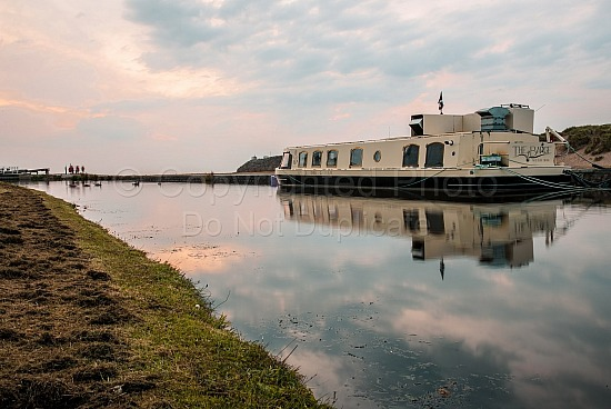 Bude canal at sunset