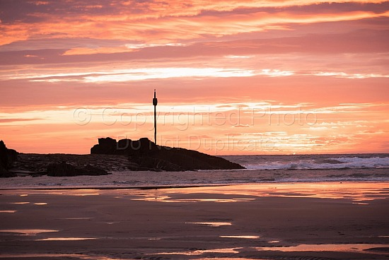 Red sky at summerleaze