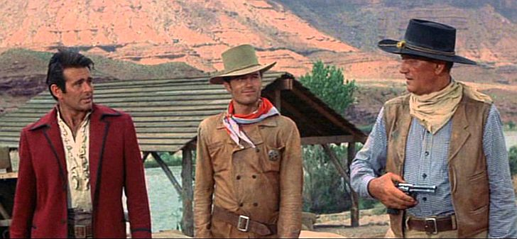 The Comancheros - still from movie