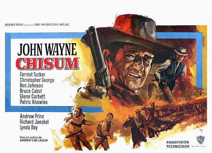 Chisum poster with John Wayne