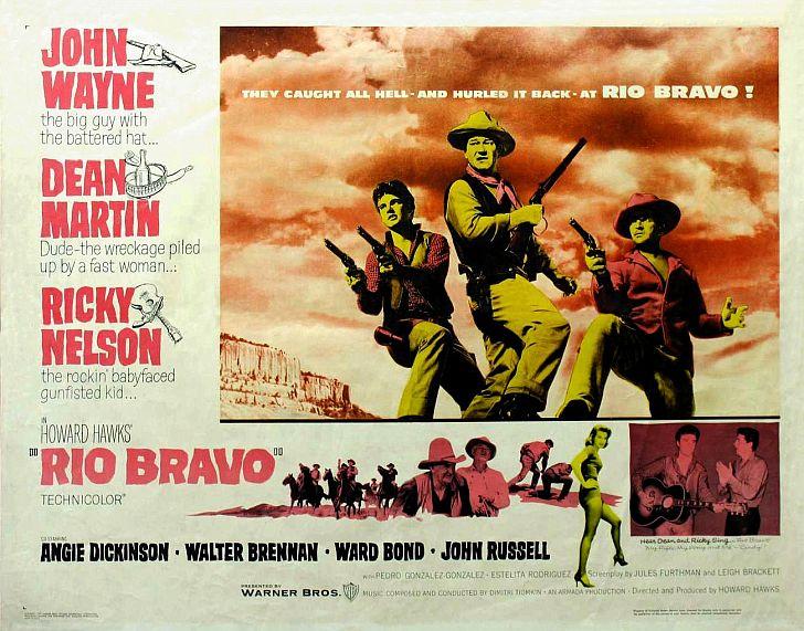 Rio Bravo poster with John Wayne