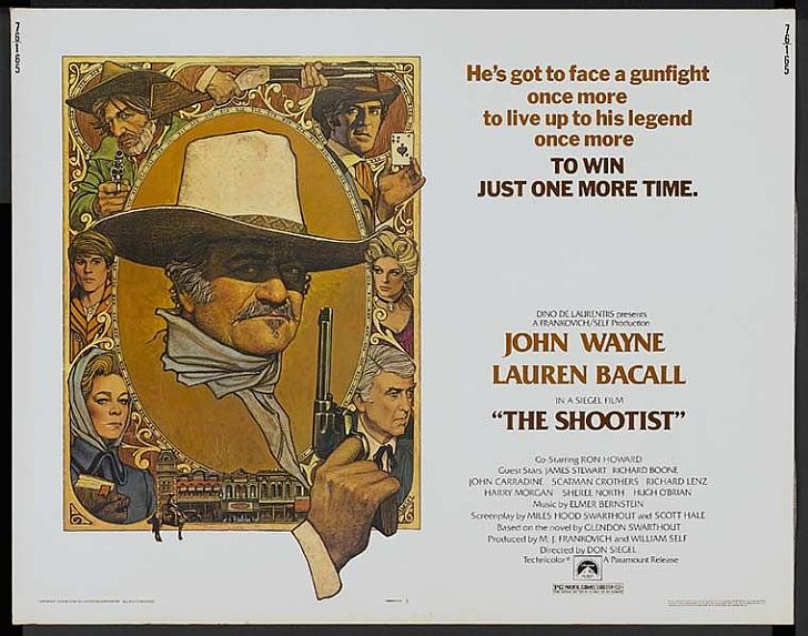 The Shootist poster with JW