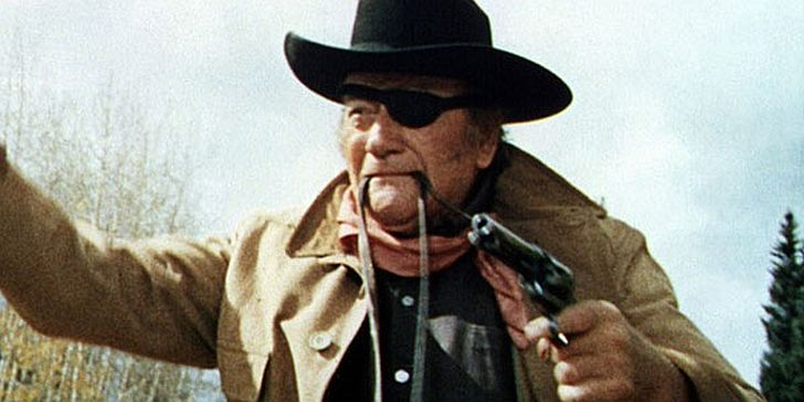 Famous still from True Grit