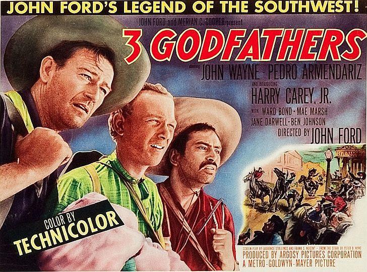 3 Godfathers John Wayne