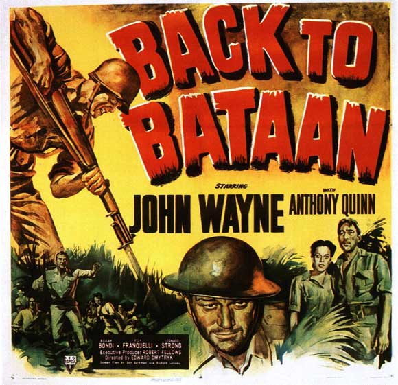 Back To Bataan WWII film John Wyane