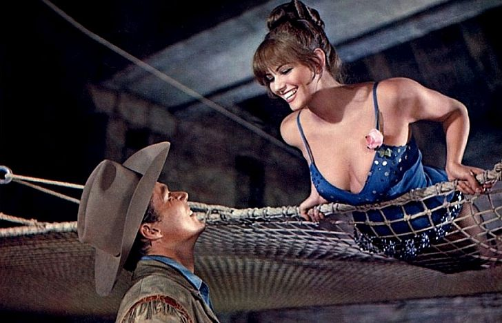 Claudia Cardinale & John Smith in Circus World