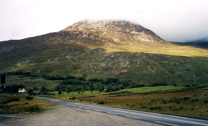 Connemara view. Ireland