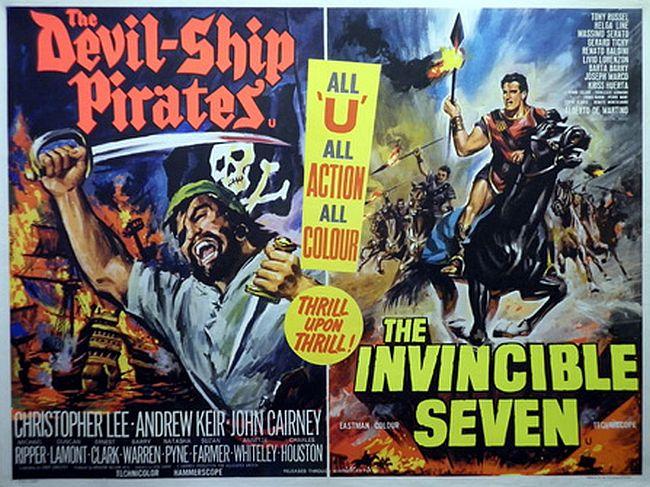 Devil Ship Pirates and Invincible
