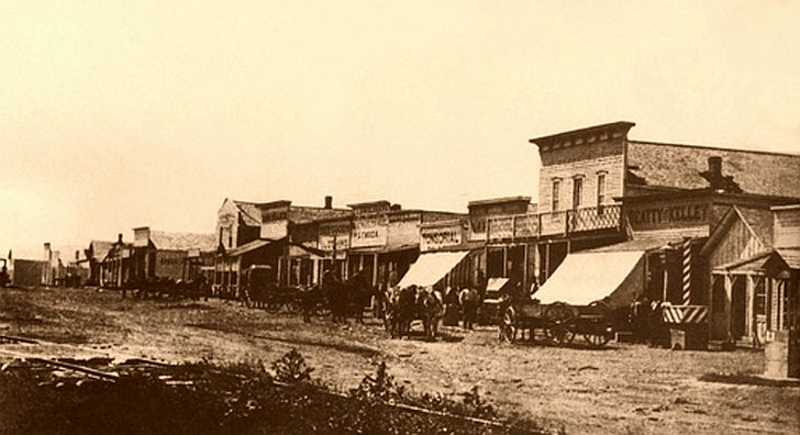 Dodge City in 1876