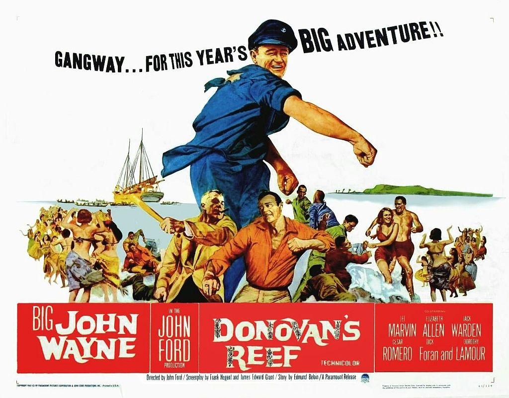 John Wayne in Donovan's Reef