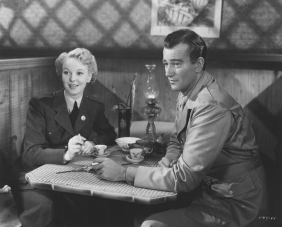 John Wayne Anna Lee in Flying Tigers