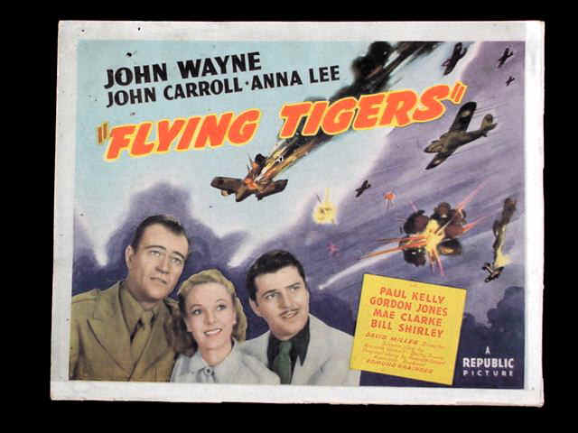 Flying Tigers WWII with John Wayne