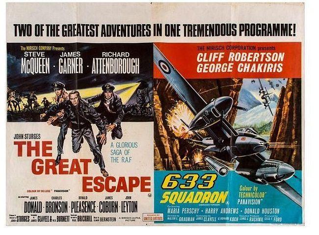 GreatEscape and 633 Squadron