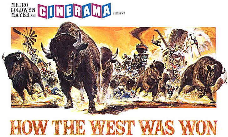 Movie poster of How The West Was Won