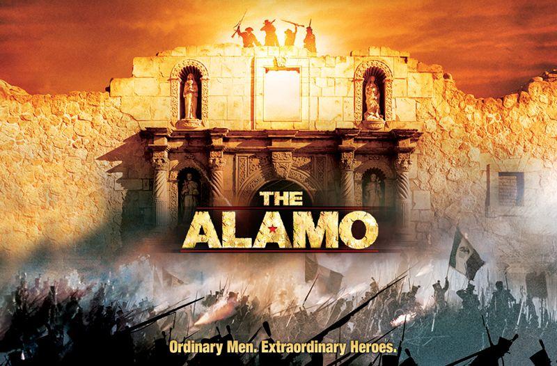 The Alamo movie poster 2004
