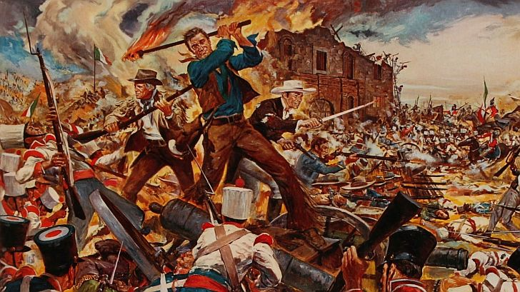JOhn Wayne poster for The Alamo