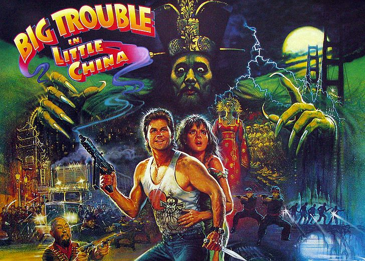 Big Trouble in Little Chine Kurt Russell poster