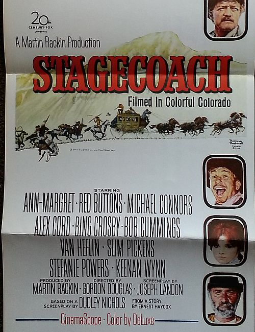 Poster for Stagecoach 1966