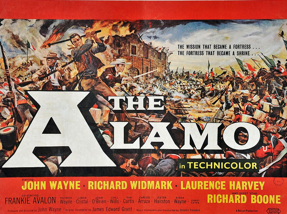 John Wayne in The Alamo