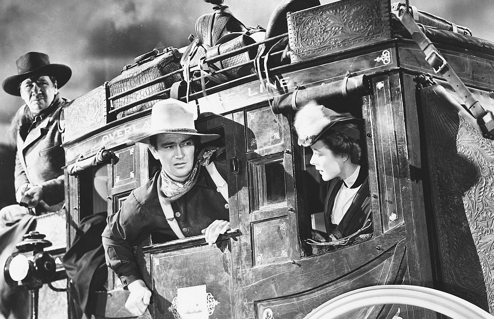 JOhn Wayne in Stagecoach