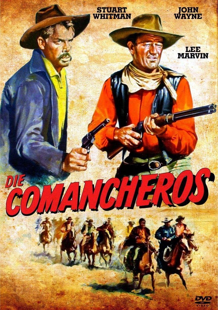 John Wayne in The Comancheros