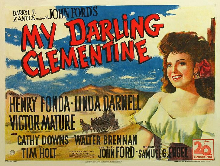 My Darling Clementine with Henry Fonda directed by John Ford