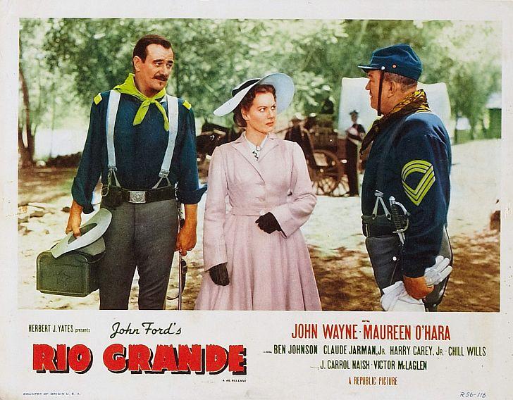John Wayne in Rio Grande