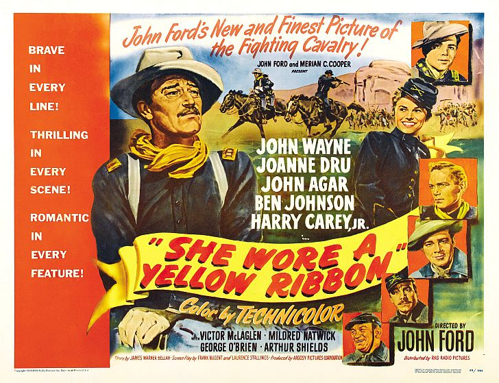 She Wore A Yellow Ribbon John Wayne