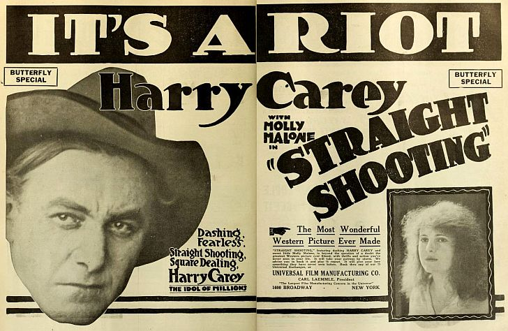 John Ford's Straight Shooting with Harry Carey