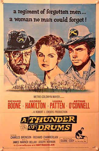 A Thunder of Drums One Sheet