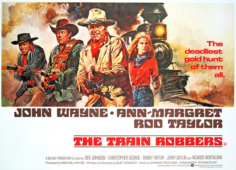 The Train Robbers With John Wayne & Ann Margret