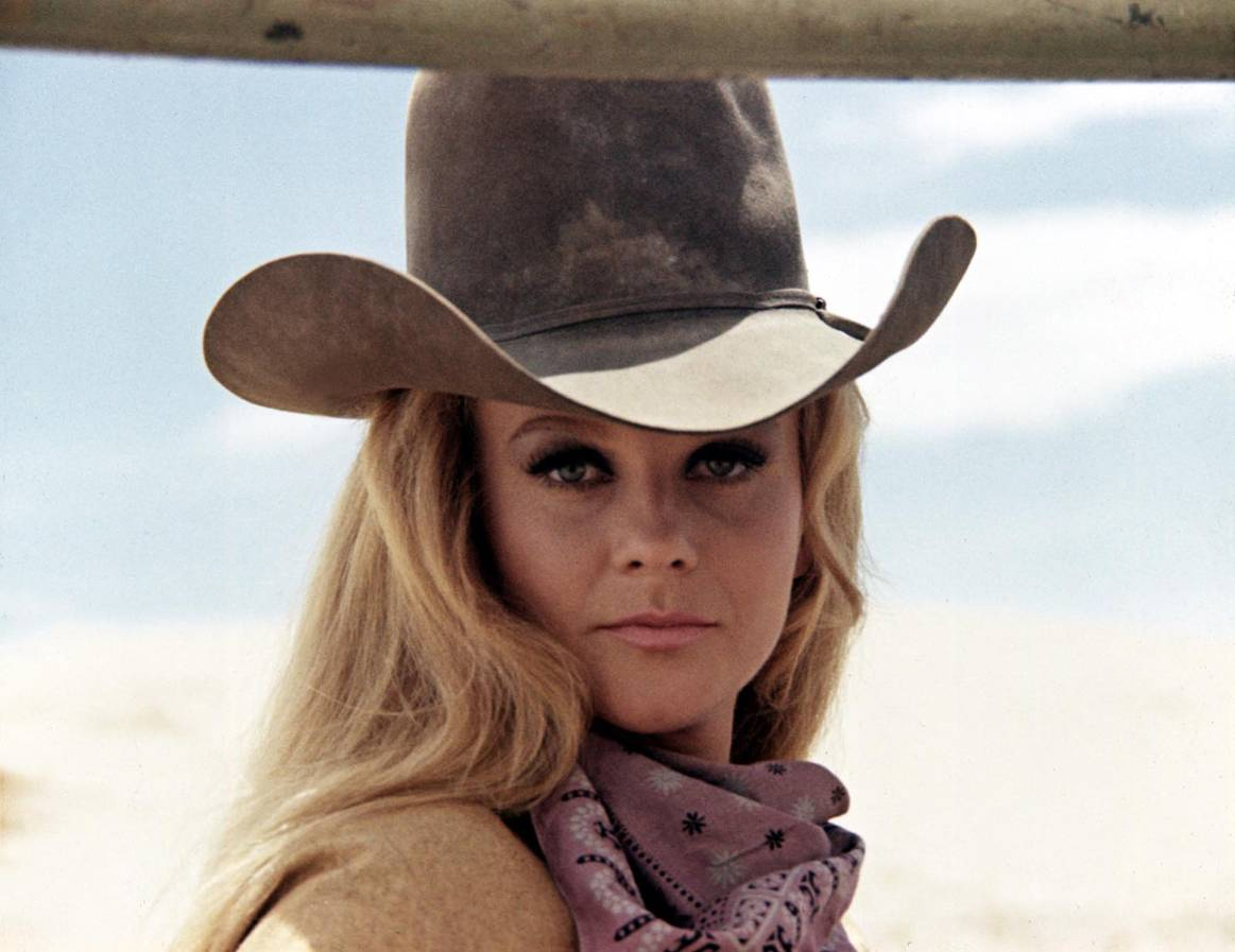 Ann Margret in Train Robbers