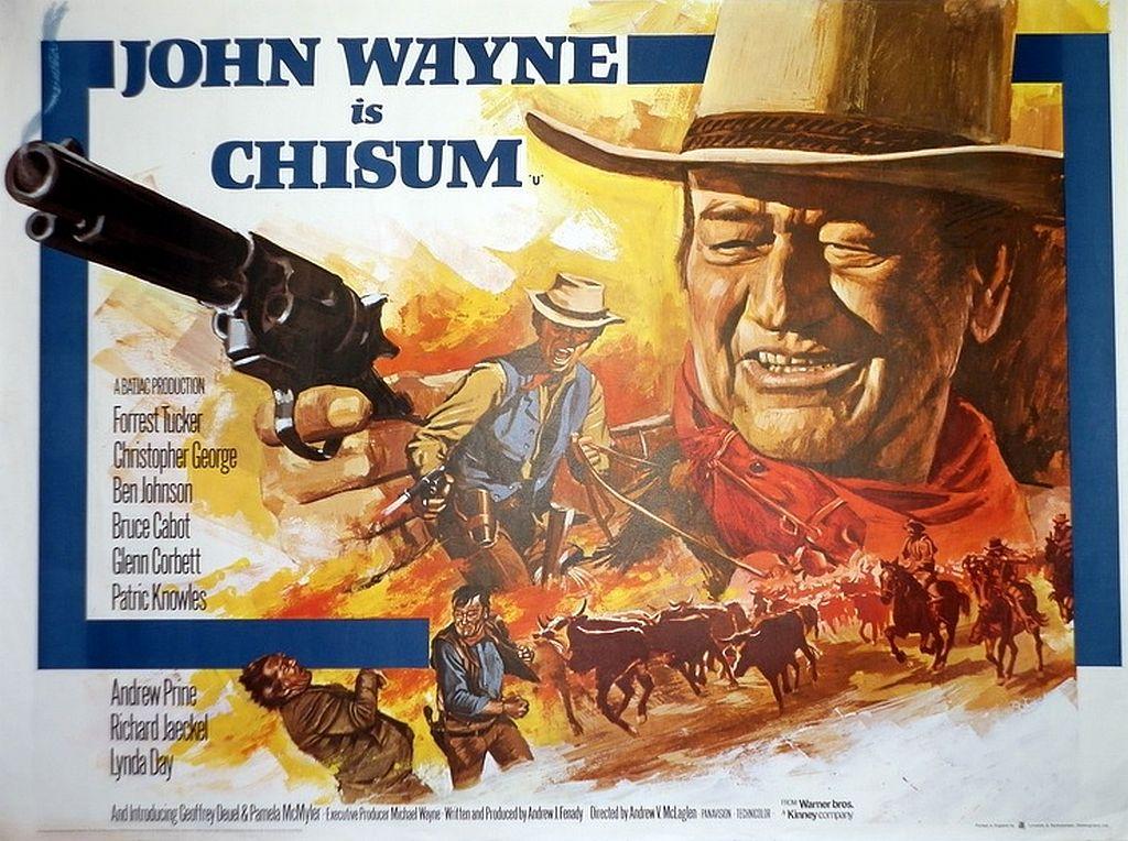 John Wayne in Chisum
