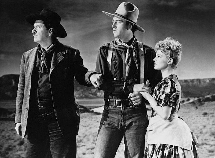 Claire Trevor with John Wayne