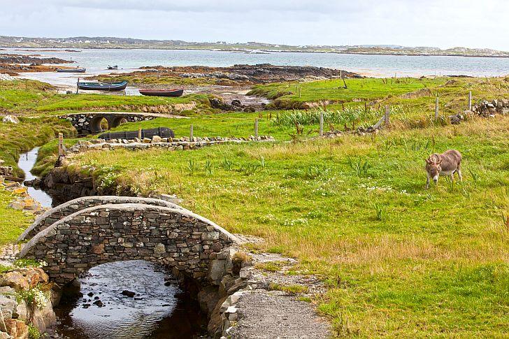 Connemara coastline