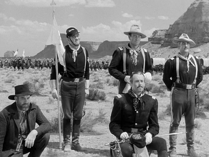 Fort Apache John Wayne Victor McLaglen Henry Fonda