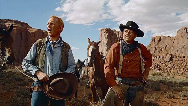 Harry Carey & John Wayne
