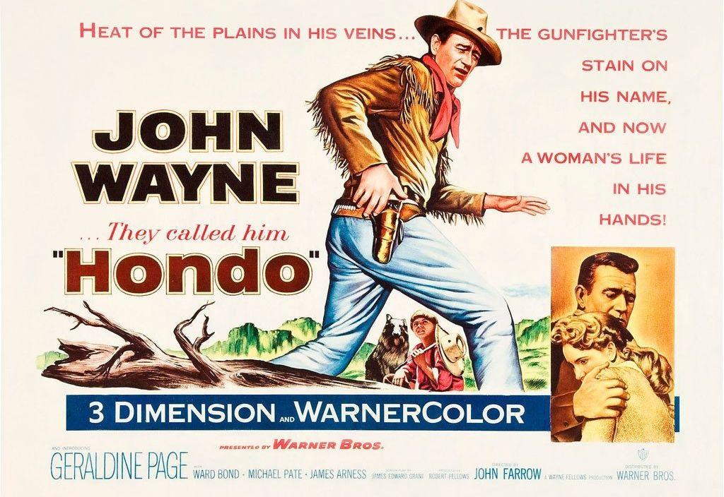 John Wayne in Honda