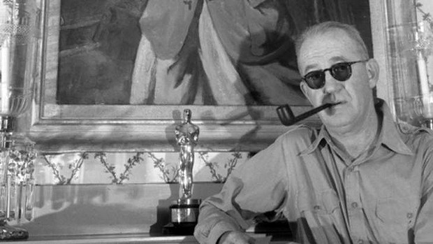John Ford with an Oscar