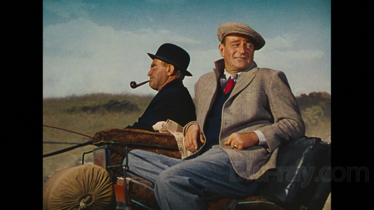 John Wayne with Barry Fitzgerald in The Quiet Man