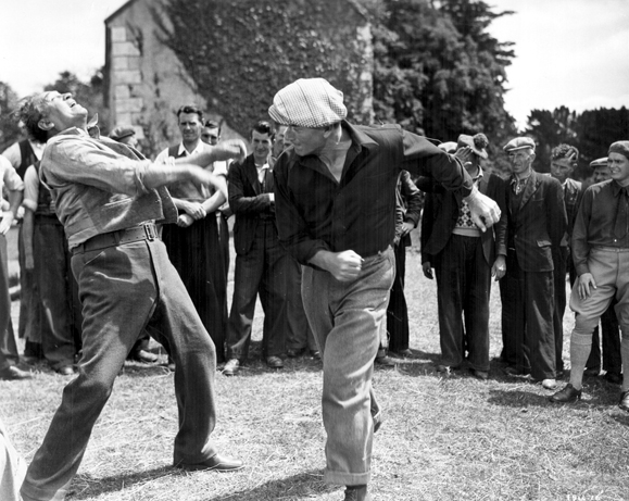 The Quiet Man Fight scene with John Wayne