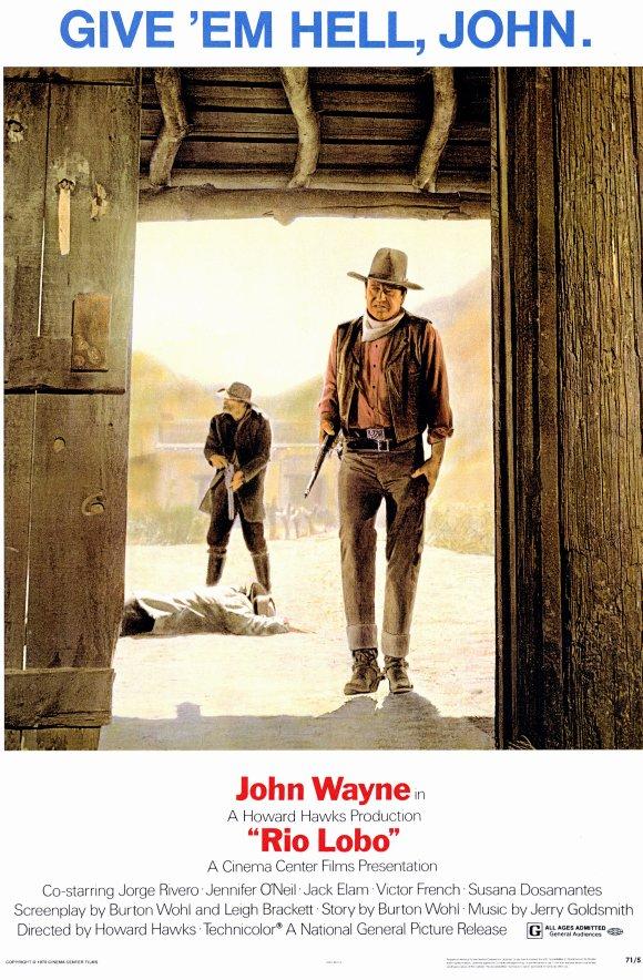Rio Lobo with John Wayne