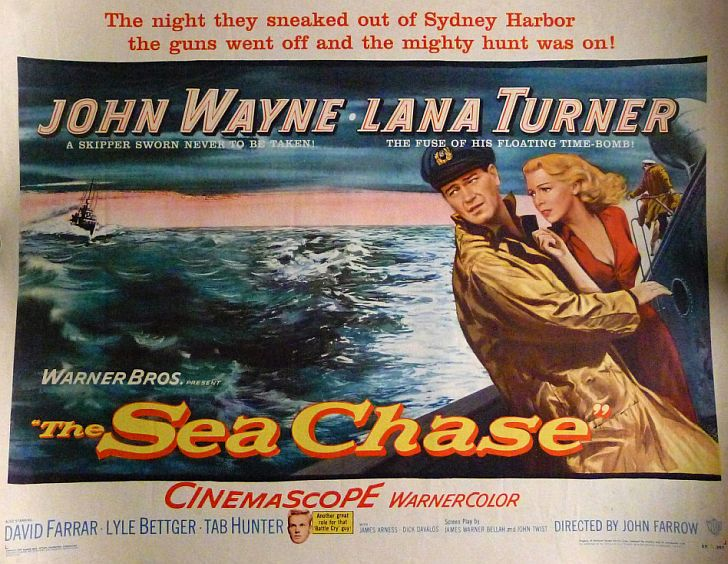 The Sea Chase with John Wayne