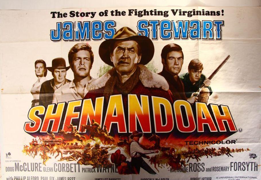 Shenandoah Film Poster